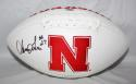 Irving Fryar Autographed Nebraska Cornhuskers Logo Football - SGC Authenticated