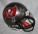 Warren Sapp Autographed Tampa Bay F/S ProLine Helmet W/ HOF- JSA W Auth