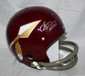 Sonny Jurgensen Signed W/ HOF Washington Redskins F/S TK Spear Helmet *Silver JSA W Auth