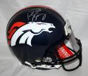 Peyton Manning Autographed Broncos ProLine F/S Helmet *Silver- JSA Witness Auth