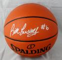 Bill Russell Autographed Official NBA Spalding Basketball- JSA W Authenticated