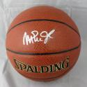 Magic Johnson Autographed Official NBA Spalding Basketball- JSA W Authenticated