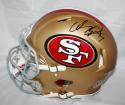 Colin Kaepernick Autographed 49ers Full Size Speed Revolution Helmet- PSA/DNA Auth