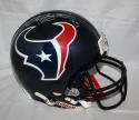 Arian Foster Signed Full Size Houston Texans ProLine Helmet *Silver- JSA W Auth