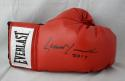 Lennox Lewis Autographed Everlast Boxing Glove- JSA Witnessed Auth