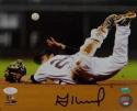 Jose Altuve Autographed Houston Astros 8X10 Ball Flip PF Photo- JSA W Auth
