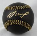 Jose Altuve Autographed Rawlings OML Black Baseball- JSA Witnessed Auth