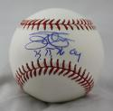Jim Palmer 73 75 76 CY Autographed Rawlings OML Baseball- JSA W Authenticated