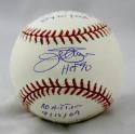 Jim Palmer Autographed Rawlings OML Baseball W/ 5 Stats- JSA W Authenticated