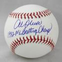 Al Oliver Autographed Rawlings OML Baseball w/ 1982 NL Batting Champ -JerseySource Auth