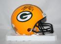 Eddie Lacy Autographed Green Bay Packers Mini Helmet- JSA W Authenticated