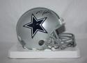 Travis Frederick Autographed Dallas Cowboys Mini Helmet JSA W Auth