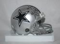 Kevin Williams Autographed Dallas Cowboys Mini Helmet W/ 2X SB Champ- JSA W Auth