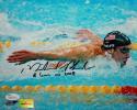 Michael Phelps Autographed Team USA 8x10 8 Gold Medals Inscription - JSA W Auth