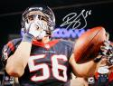 Brian Cushing Autographed 8x10 PF Shhhh!!! Photo- JSA Witness Authenticated