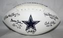 Doomsday Defense Autographed Dallas Cowboys Logo Football W/ 6 Sigs- JSA Witness Authenticated