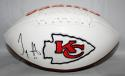 Tyreek Hill Autographed Kansas City Chiefs Logo Football- JSA W Authenticated