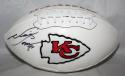 Neil Smith Autographed Kansas City Chiefs Logo Football- JSA W Authenticated