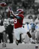 Amari Cooper Autographed Alabama 16x20 B&W & Color In Air PF. Photo- JSA W Auth