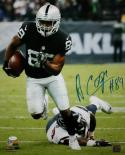 Amari Cooper Autographed Raiders 16x20 Against Texans PF. Photo- JSA W Auth