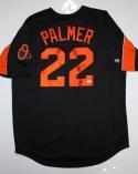 Jim Palmer Autographed Black/Orange Baltimore Orioles Jersey W/ HOF- JSA Witness Authenticated