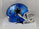 Sean Lee Autographed Dallas Cowboys Blaze Mini Helmet- JSA Witnessed Auth