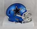 Dak Prescott Autographed Dallas Cowboys Blaze Mini Helmet- JSA Witnessed Auth