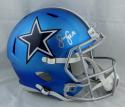 Sean Lee Autographed Dallas Cowboys Blaze Full Size Replica Helmet- JSA Witnessed Auth