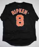 Cal Ripken Jr. Autographed Black Baltimore Orioles Jersey- JSA Authenticated
