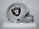 Michael Crabtree Autographed Oakland Raiders Mini Helmet- JSA W Authenticated