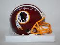 Jon Jansen Autographed Washington Redskins Mini Helmet- Jersey Source Auth