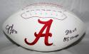 C. J. Mosley Autographed Alabama Crimson Tide Logo Football W/ BCS Champs- JSA W Auth