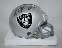 Amari Cooper Autographed Oakland Raiders Mini Helmet- JSA W Authenticated