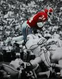 Herschel Walker Autographed Georgia 16x20 BW/Color w/Heisman PF Photo- JSA W Auth