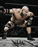 Bill Goldberg Autographed 16x20 WWE Ready to Wrestle Photo- JSA Witness Auth
