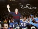 Bill Parcells Autographed 8x10 On Shoulders Giants Photo- JSA W Authenticated