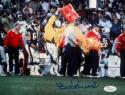 Bill Parcells Autographed 8x10 Giants Gatorade Photo- JSA Witness Authenticated