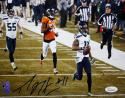 Percy Harvin Autographed Seahawks 8x10 SB Touchdown Photo- JSA W Authenticated