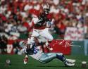 Deion Sanders Autographed San Francisco 49ers16x20 vs Cowboys PF Photo- JSA Witness Auth