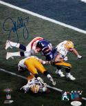 John Elway Broncos Autographed 8x10 Flip Over SB PF Photo- JSA W Authenticated