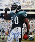 Brian Dawkins Autographed Philadelphia Eagles 8x10 Flex PF Photo- JSA Witness Auth