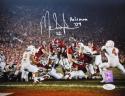 Mark Ingram Autographed Alabama 8x10 TD Against Texas JSA Witness Auth Heisman Inscription