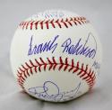 F. Robinson, B. Robinson, Dempsey Autographed Rawlings OML Baseball W/MVP- JSA W Auth