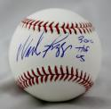 Wade Boggs 3010 Hits Autographed Rawlings OML Baseball- JSA W Authenticated