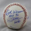 Ripken Jr, Murray, Weaver, Palmer, B.Robinson, F. Robinson Autographed Rawlings OML Baseball- JSA W Auth