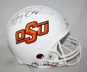 Barry Sanders Autographed F/S Oklahoma State Cowboys ProLine Helmet- JSA W Auth