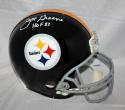 Joe Greene Autographed F/S Pittsburgh Steelers Replica Helmet W/ HOF- JSA Auth