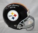 Joe Greene Autographed F/S Pittsburgh Steelers Replica Helmet W/ HOF- JSA Auth