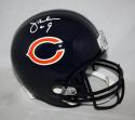 Jim McMahon Autographed F/S Chicago Bears Replica Helmet- JSA W Authenticated
