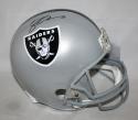 Michael Crabtree Autographed Full Size Oakland Raiders Helmet- JSA W Auth